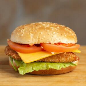 Kisméretü hamburger